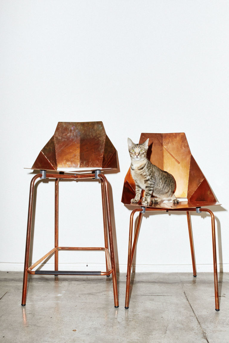 Peanut Chose The Most Iconic Iterationu2014copperu2014of The Real Good Chair For  Her Portrait. Sheu0027s Vying For A Spot On Your U0027I Want For My Homeu0027 Pinterest  Board.