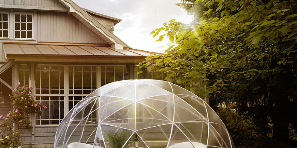 The Backyard Tent of Your Dreams A Garden Igloo